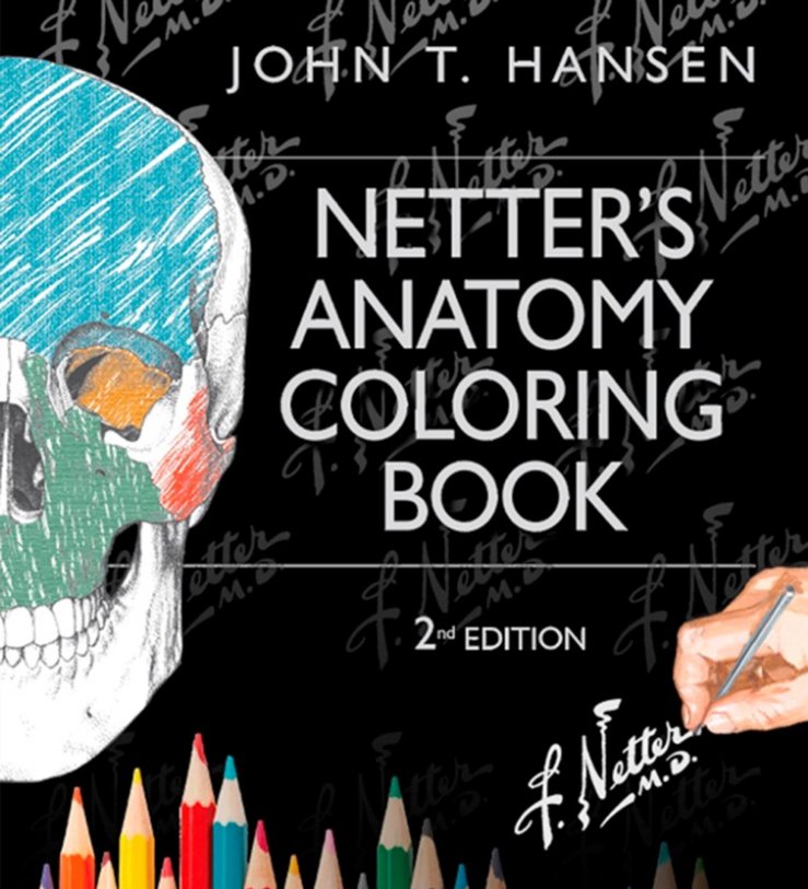 Netters Anatomy Coloring Book For Imaging Professionals