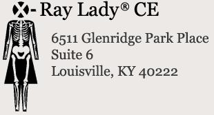 X-Ray Lady Courses - X-Ray Lady